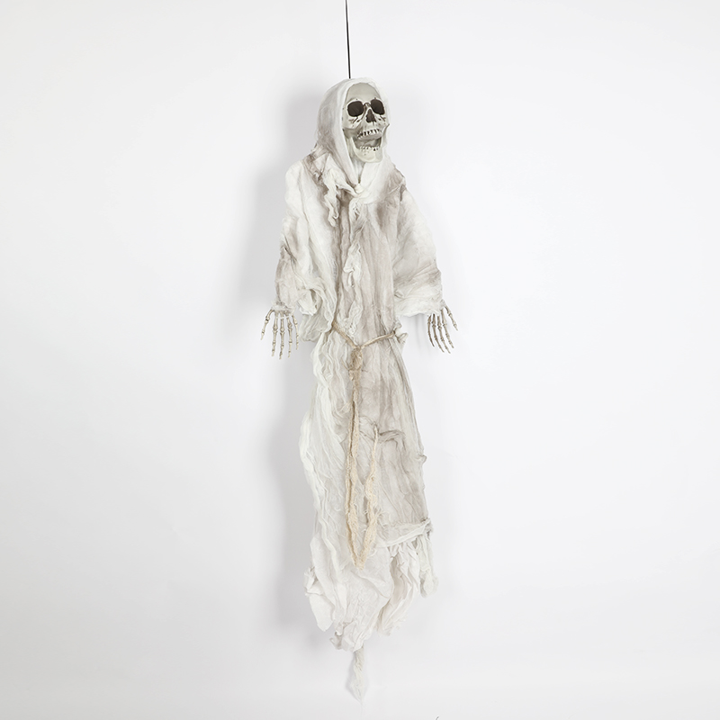 HTB1yFlFdQzoK1RjSZFlq6yi4VXaF - 165cm Halloween Hanging Ghost Haunted House Escape Horror Halloween Decorations Terror Scary Props Theme Party Drop Ornament 1pc