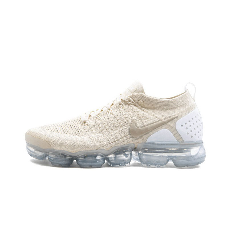 best service 61ab1 b8cbb US $76.42 37% OFF|Nike Air Vapormax Flyknit 2.0 Women's Running Shoes White  Lightweight Non slip Shock Absorbing Breathable Sneakers 942843 800-in ...