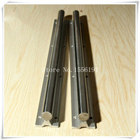 SBR20 1000mm Solid Cylinder Axis SBR C20 Linear Shaft Guide Rail With Aluminum Tray Motion Bearings