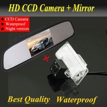 Full HD 4.3 » автомобиль зеркало + CCD 4 из светодиодов камера заднего вида для Nissan TEANA TIIDA Sylphy Nissan Altima