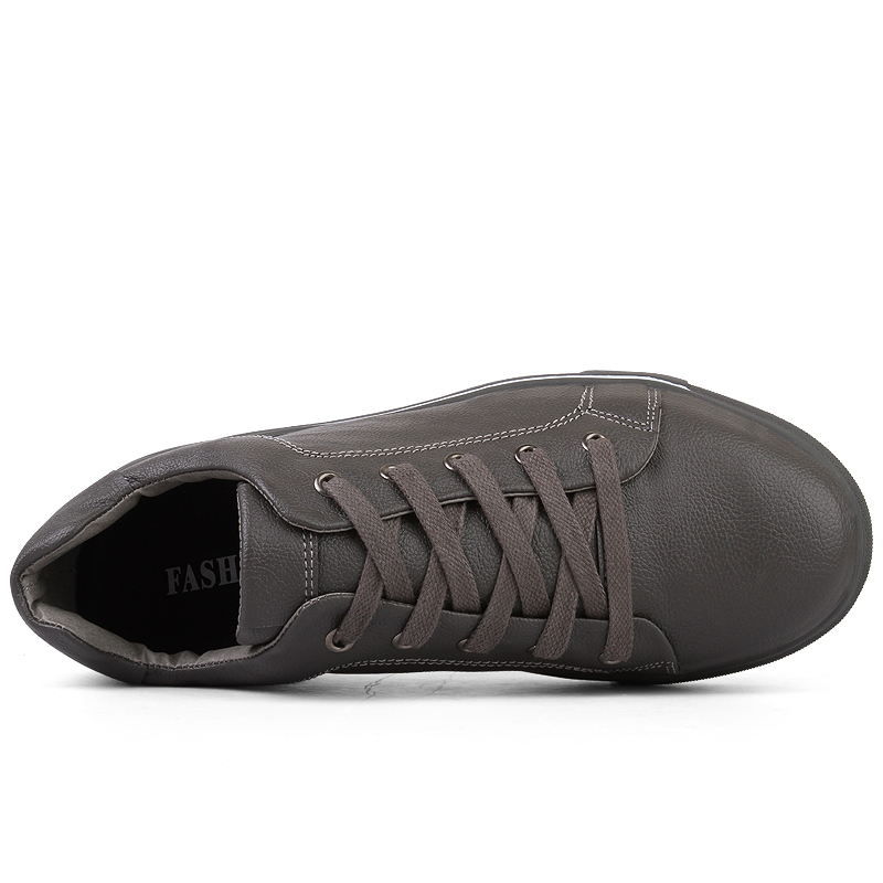 WOODTREE  Men's Leather Casual Shoes Classic Fashion Male Lace up - Men's Shoes - Photo 4