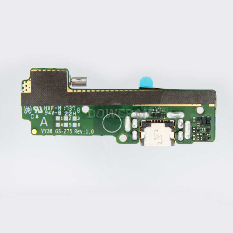 Vibrator Microphone Mic Circuit Board USB Charging Port Flex Cable For SONY  Xperia XA F3111/12/13/15/16 Charger Dock Connector