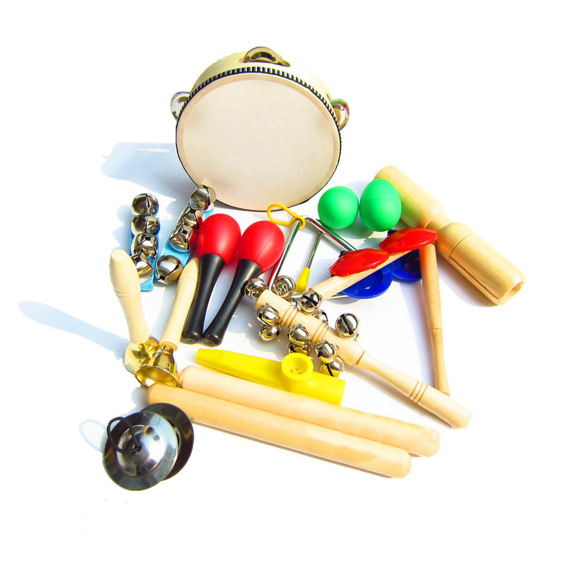 Toy Drum Musical Instruments : Pcs music instruments kits children percussion toy drum