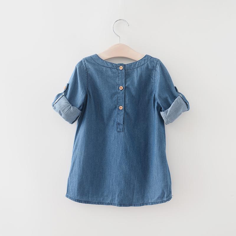 Menoea Children Clothing Suits 19 Autumn Fashion Style Girl Cowboy Long-Sleeve Mesh Dress Design For 3-8Y Kids Girls Sets 45