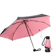 Mini Pocket Foldable Rain or Sun Umbrella