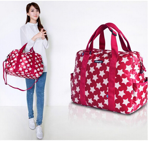 Baby diaper bag waterproof stroller bag for nappy changing Five-pointed star mother maternity tote handbag women bag