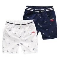 Mioigee 2018 для маленьких мальчиков Шорты для женщин детская одежда Повседневное Пляжные шорты Брюки для девочек Одежда для мальчиков модные шо...