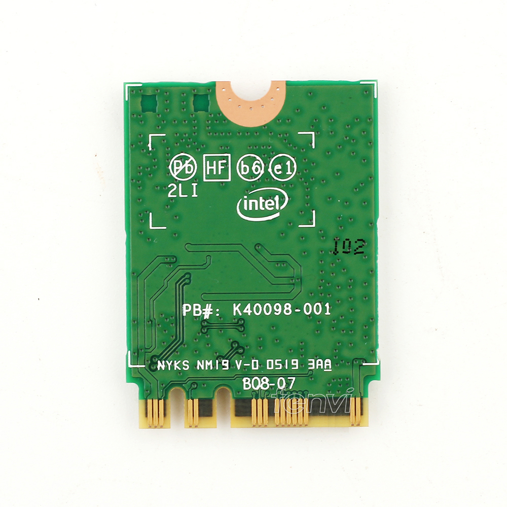 Image 3 - Dual band 802.11ax For WIfi 6  Intel AX200 NGFF Wifi Wireless Card AX200NGW MU MIMO 5Ghz Up to 2.4Gbps Wifi+BT 5.0 With Antennas-in Network Cards from Computer & Office