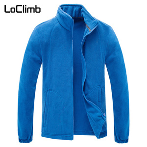 Image 5 - LoClimb Chaqueta Polar de invierno para hombre, abrigo para turismo, montaña, escalada, esquí, senderismo, AM132