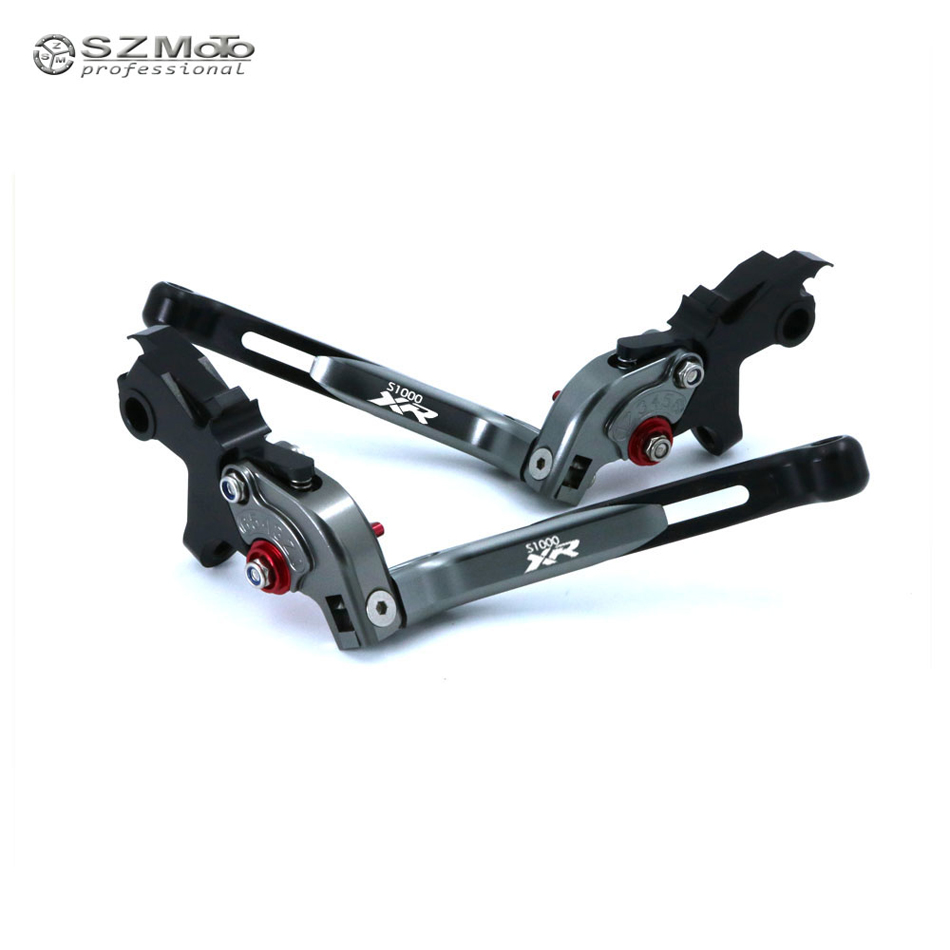 For BMW S1000XR S 1000XR 2015 2017 Aluminum Motorcycle Accessories Folding Extendable Adjustable Brakes Clutch Levers