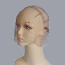 Полный Кружево прозрачный парик Кепки для изготовления полный Кружево парик с регулируемым ремешком пользовательские свой собственный Стиль сетку