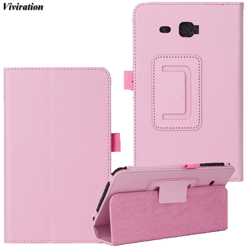 Viviration Women Girls Tablet Accessories For Samsung Galaxy Tab J Max 7 SM-T280 SM-T285 Case Top Selling Flip Luxury Cover