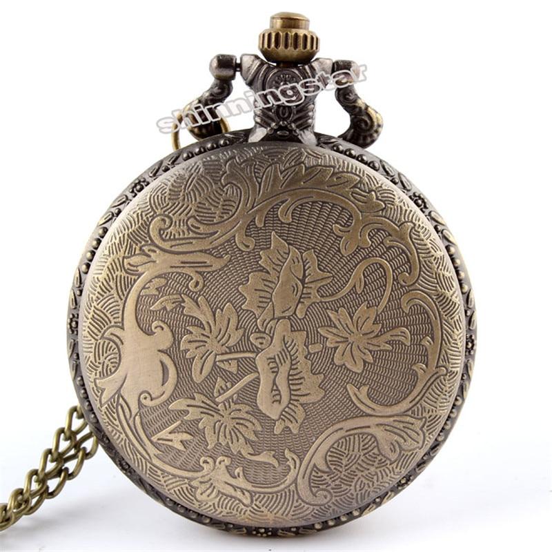 Bronze Retro Tone Fullmetal Alchemist Zakhorloge Heren Dames Cosplay - Zakhorloge - Foto 3