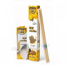 2-10 Pieces Hopi Candle Ear Cleaner Pure Natural Beeswax Wax Remover Horn Round Aromatherapy Indiana Candling