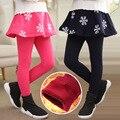 2015 new wild child trousers culottes girls winter models big virgin snow a generation of fat children