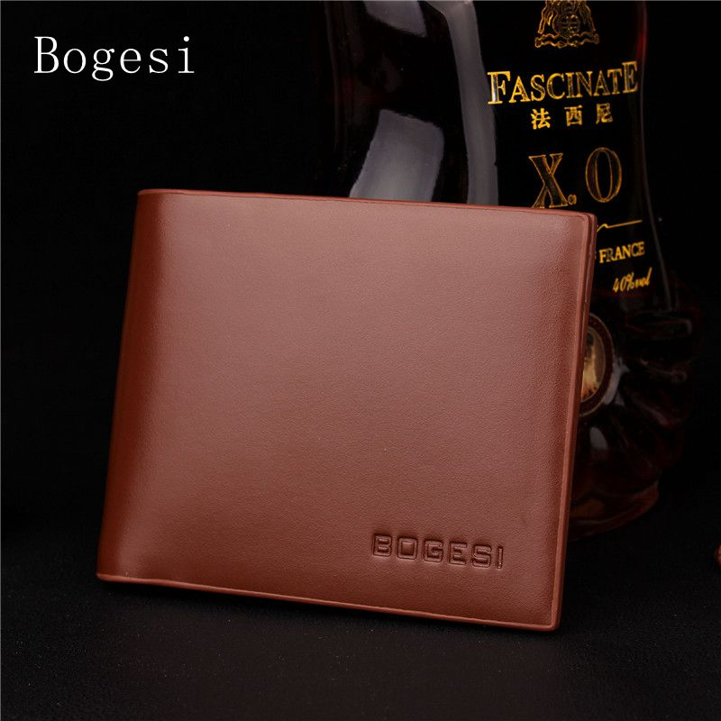 Bogesi Classic Striped PU Men's Scrub Wallet With Coin Short Men Wallets Luxury Brand Male Purse With Card Holder Dollar Price цена и фото