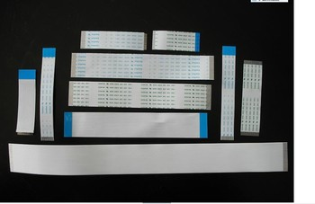 CUSTOMIZED ORDER : Flat Flex ribbon FFC cable 4 - 80 pin 30 - 800mm long pitch 0.5mm 0.8mm 1.0mm 1.25mm 2.54mm awm vw-1 a long pitch home