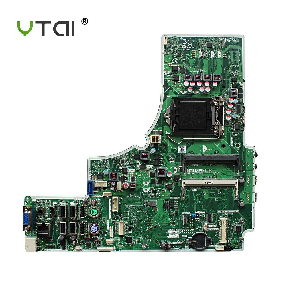 YTAI IPIMB-LK for DELL Optiplex 9010 AIO Motherboard IPIMB-LK Q77 DDR3 LGA 1155 mainboard fully tested