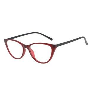 Image 3 - משקפיים מסגרת משקפיים נשים חתול משקפי פלסטיק טיטניום נשים נשים מעבר משקפיים אופנה אביזרי 2018