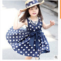 lantu LT22 white retail baby girls wear summer dress of children girl dress baby girls clothes  2016 new arrival