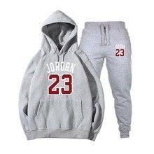 bcabf11b7710d Nuevo 2018 nuevo de moda JORDAN 23 hombres ropa deportiva de los hombres  sudaderas con capucha Jersey Hip Hop hombre chándal sud.