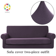 Fancai Grinding 2 sets Improved Sofa Covers For Living Room  Cover Towel Fabric Combination