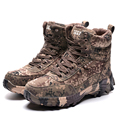 2016 lã de alta camuflagem para o deserto exército botas de inverno bots e botas de deserto caminhadas bota de combate camuflada