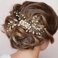 New Bride Imitation Pearl Bridal Hair Combs Hairpin Wedding Hair Accessories Hair Jewelry Hair Clip Z0848