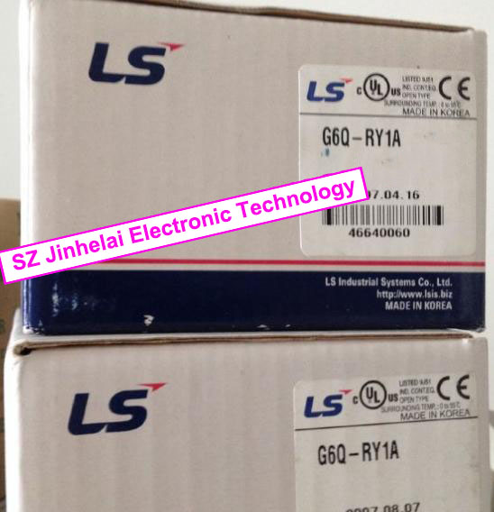 100% New and original  G6Q-RY1A   LS(LG)  PLC Output module 100% new and original g6l eufb ls lg plc communication module e net open type fiber optic