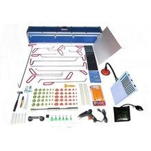 110 PCS PDR Hook Tools Push Rod Black Car Crowbar Pump Wedge Paintless Dent Repair Tools