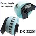 Dk-22205 DK 22205 62 mm * 30.48 M de fita compatível para o irmão DK2205 térmica de impressora QL DK-2205 DK22205