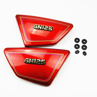 Original High Quality Right Left Frame Side Covers Panels For Suzuki GN 125 GN125 Red SUZUKI
