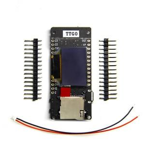Image 4 - LILYGO®Модуль TTGO T2 ESP32 0,95 OLED SD карта WiFi и Bluetooth