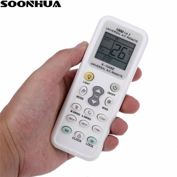 SOONHUA Universal Air Conditioning Remote Control LCD A/C Low Power Consumption Remote for Air Conditioner HW-1028E Controllers image