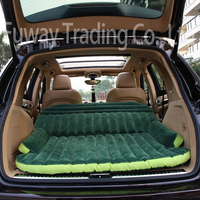 DHL Free Shipping!!!! SUV Inflatable Mattress Travel Camping Car Back Seat Sleeping Rest Mattress With Air Pump Car Accessories