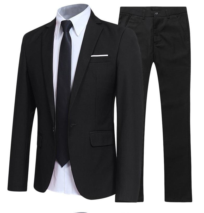 Robe de marié noir costumes pour homme vêtements de cérémonie Slim Fit costumes robe de mariée costumes Blazer vestes + pantalons + chemises 3 pièces costumes