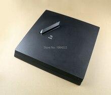 Carcasa completa para consola PS4 Pro, Color negro, carcasa con logotipo