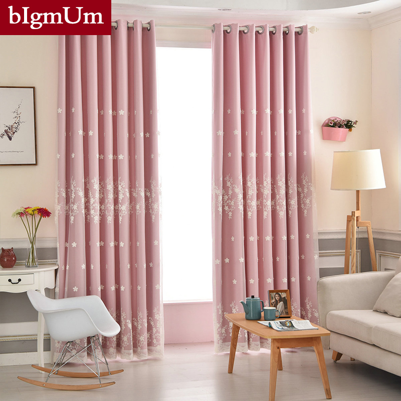 New Style Window Curtains For Living Room Bedroom Blackout Windows ...