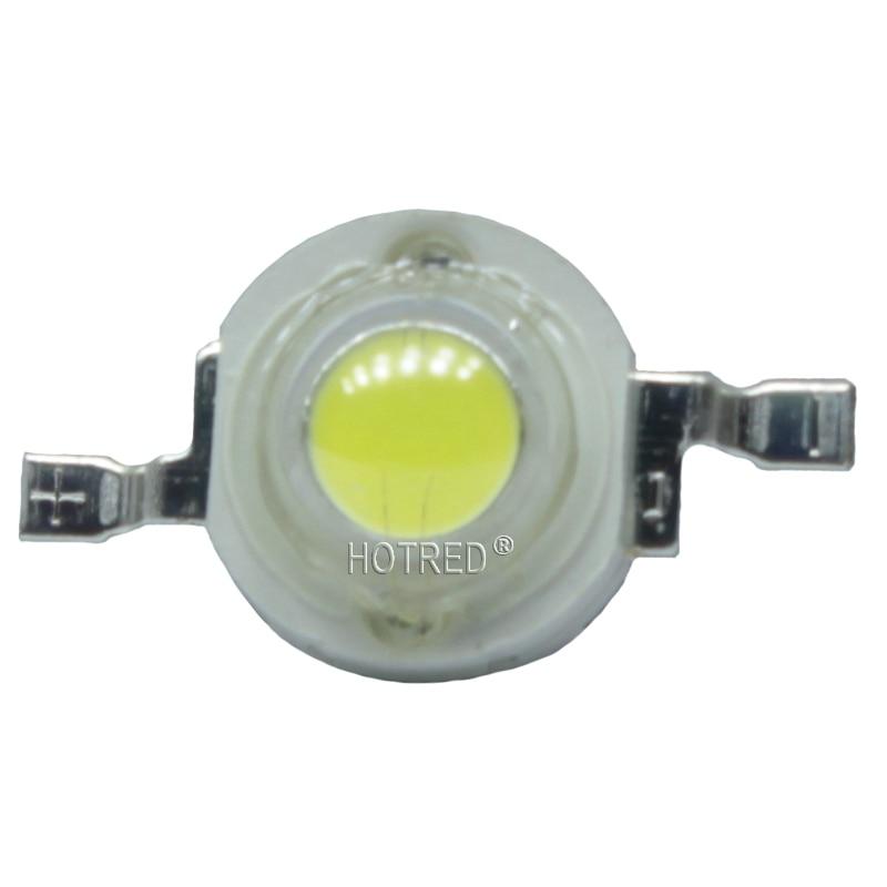 100pcs 3W Watt  Bridgelux 45mil Copper Stent 240LM High Power LED Light Diodes LED Car Bulb Chip Spot Light Downlight White Warm