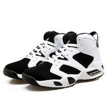 sports shoes 8afa8 f36a5 Boys Cushioning Basketball Shoes High Popular Air Shock Comfortable Sneakers  Outdoor Cheap Sport Boots basquete jordan