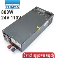 800W 0V TO 24V 110V Single Output Switching power supply for LED Strip light AC to DC