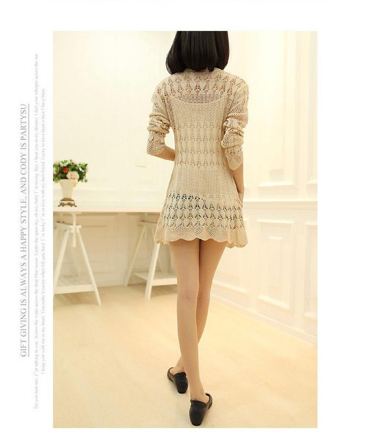 Womens Sweater Spring Jacket Loose Shawl 61