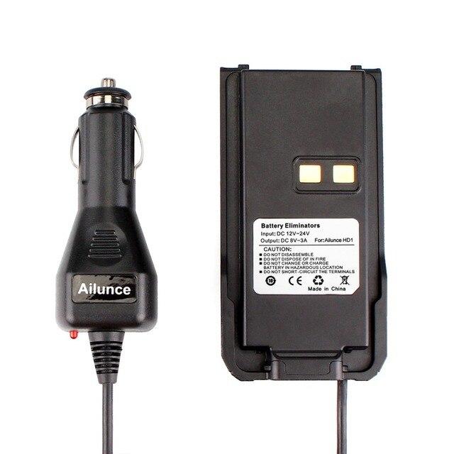 شاحن سيارة مزيل البطارية 12 فولت 24 فولت ل Ailunce HD1 ثنائي النطاق DMR راديو رقمي لاسلكي تخاطب