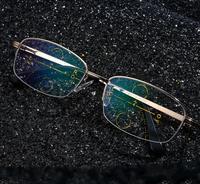 Excellen Quality Men Women Progressive Multifocal Lens Reading Glasses Presbyopia Lens Eyewear See Near Far Intelligence