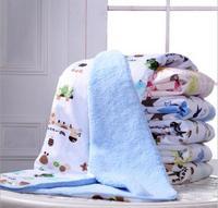 Children Newborn Blanket Double Layers Thick Winter Baby Blankets