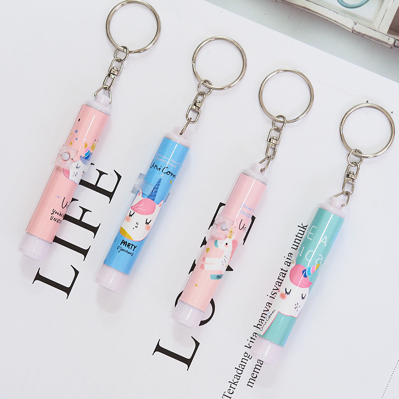1Pc Fashion Unicorn Keychain Unicorn Party Birthday Party
