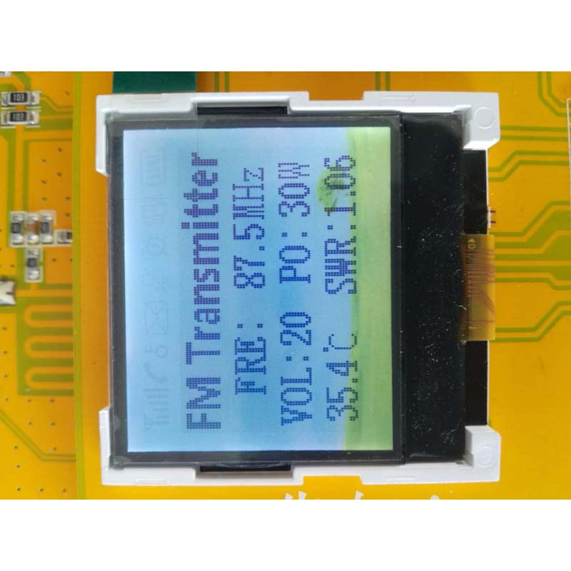 Image 4 - 30W PLL Stereo FM Transmitter 76M 108MHz 12V Digital LED Radio Station module with heatsink fan D4 005-in Radio from Consumer Electronics