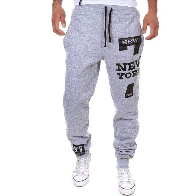 M-SXL Men's Jogger Dance Sportwear Baggy Casual Pants Trousers Sweatpants Dulcet Cool Black/White/Deep gray/Light gray 4