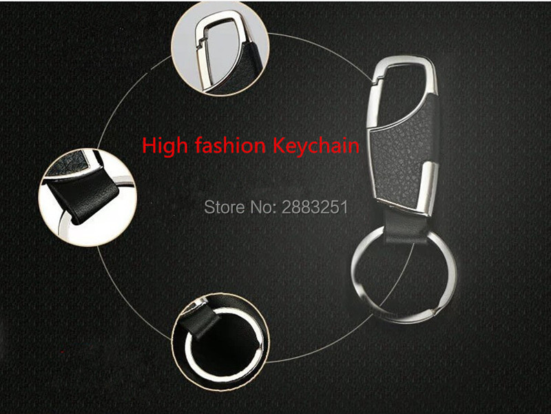 HOT Car Styling Fashion Leather Key Chain Key Ring For <font><b>Lexus</b></font> rx350 rx gs is250 gs300 rx300 nx rx330 <font><b>gx470</b></font> lx470 car <font><b>accessories</b></font> image