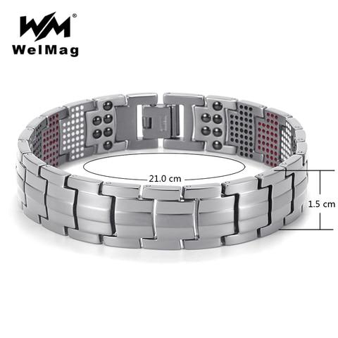Купить модные мужские ювелирные изделия welmag лечебные магнитные браслеты